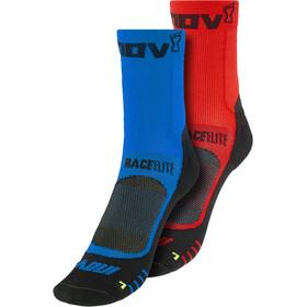 inov-8 Race Elite Pro Calcetines, azul/rojo